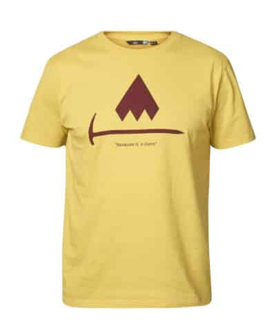 Because It's There Hatchet Tee M