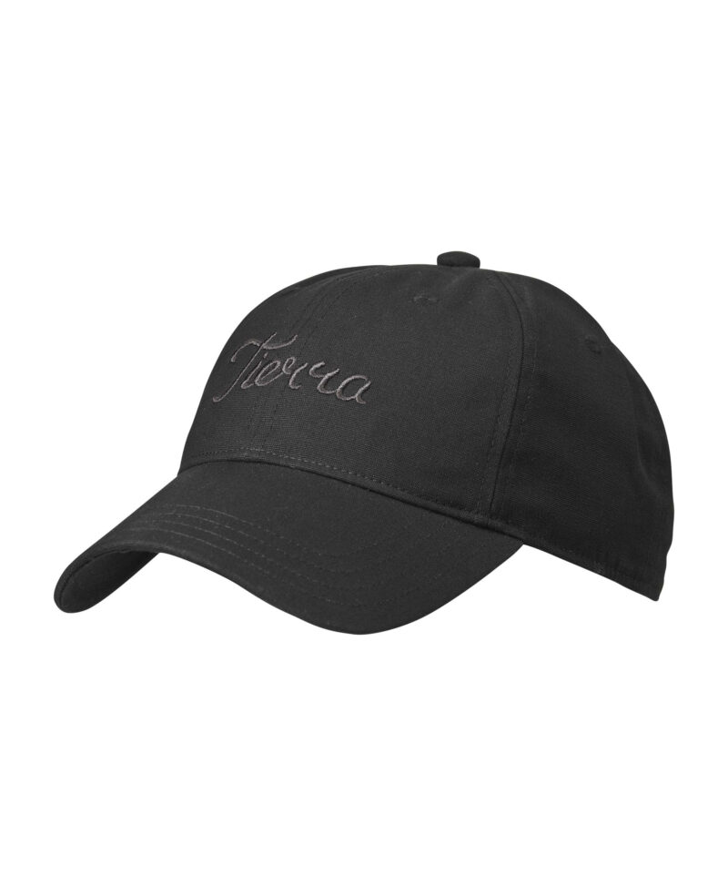 Embroided Organic Cotton 6 Panel Cap